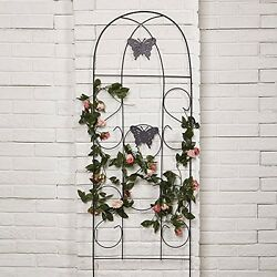 Amagabeli Wrought Iron Butterfly Garden Tools Patio Furnishing Plants Flowers