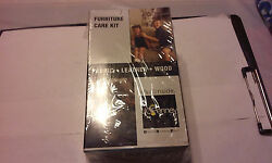 JC PENNEY FURNITURE CARE KIT STAINSAFE FABRIC LEATHER WOOD NEW IN BOX