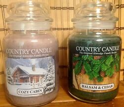 Yankee Candle Founder Introduces Kringle Country Candle Balsam&CedarCozy Cabin