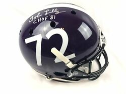Bob Lilly Autograph Replica TCU Horned Frogs Full Size Helmet JSA COA Texas
