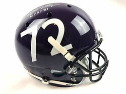 Bob Lilly Autograph Replica TCU Horned Frogs Full Size Helmet JSA COA Texas Z2