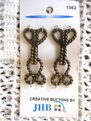 JHB Clasp 1362 Sewing Craft Supplies Notions Buttons Jewelry Findings