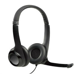 Logitech H390 ClearChat Comfort USB Headset Noise Cancelling Microphone