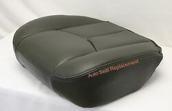 2003 2004 2005 06 Chevy Silverado Driver Bottom Replacement Seat Cover Dark Gray $68.99