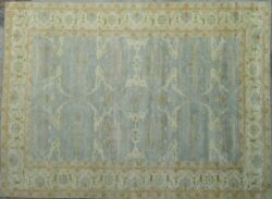 14x20 Light Blue Oriental Rug Soft Wool Gorgeous Design Area Rug
