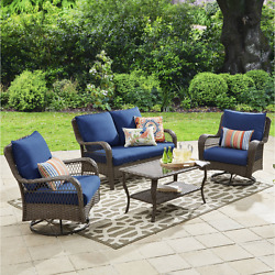 Patio Furniture Clearance Table Chairs Conversation Set Patio On Sale Garden NEW