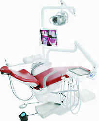 TPC MIRAGE DENTAL CHAIR DELIVERY LED CUSPIDOR & DENTIST ASSISTANT STOOLS