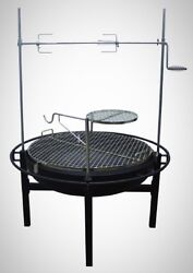 Fire Pit Charcoal Grill BBQ Backyard Patio Yard Pool Party Portable Durable Home