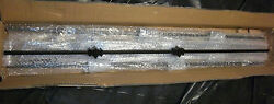 METAL STAIR PARTS ~ BLACK SATIN SOLID IRON BALUSTERS  3 - TYPES ~ Sold as Lot
