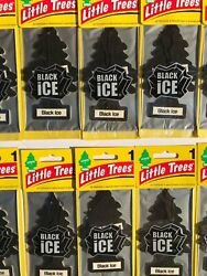 Little Trees Black Ice Tree Air Freshener Home Car Scent 6 12 24 48 96 144pc $13.95