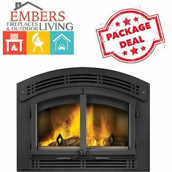 Napoleon NZ3000 H Wood Burning Fireplace EPA Stage 2 Eco Modern High Country