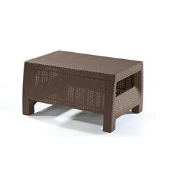 Patio Tables Clearance Lawn Furniture Small Side Table Outdoor Brown Sale Cheap