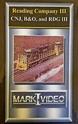 Mark I Video -  Memories of the CNJ B&O and RDG Vol 3 + Reading Co Scrapbook 3