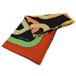 Hermes Carre 140 Scarf Stole Shawl Cashmere Silk Chaine D'Ancre Women Auth Rare