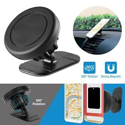 360° Adjustable Stick Dashboard Magnetic Car Mount Holder Cradle for Phone GPS $7.03