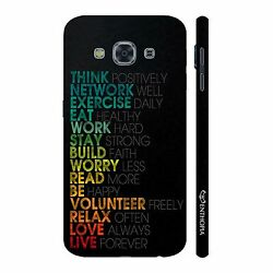 Mantras for life Mobile Cell Phone Hard Back Case For Samsung Galaxy J3 Pro