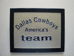 Dallas Cowboys carved signhouseman caveshe shedshopdengaragewall artetc