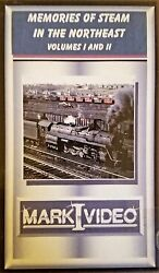 Mark I Video -  Memories of Steam in the Northeast - Vol 1 & 2 - DVD