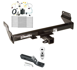 Trailer Tow Hitch For 14-19 Jeep Grand Cherokee Except Diesel w Wiring 2