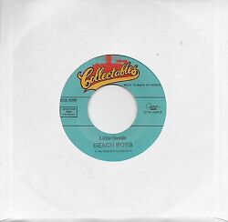THE BEACH BOYS  Little Honda  She Knows Me Too Well 45 on COLLECTABLES label