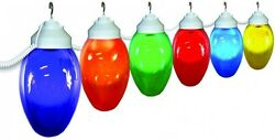 Polymer Products 6-Light Outdoor Holiday String Light Set of Assorted Color and