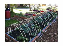 Agfabric Hoop House Kit Mini Greenhouse Grow Tunnel Within Support Hoops (30F...