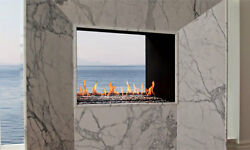 Montigo 36″ Gas See Through Indoor-Outdoor Vent-free Fireplace 36 x 24