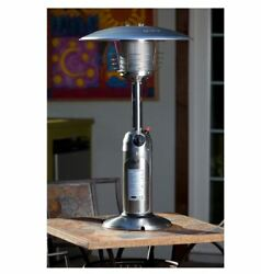 10000-BTU Outdoor Stainless Steel Portable Table Top Propane Gas Patio Heater