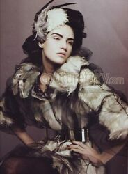 ICONIC DOLCE GABBANA COUTURE EVENING TULLE FUR COAT 27999$ + TAXES