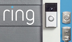 Ring Doorbell Wireless Video See Hear Speak Motion Detection HD Night Vision New