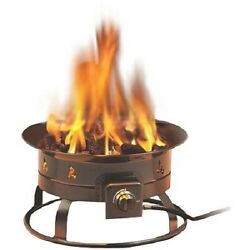 Heininger Fire Pit 58000 BTU portable propane outdoor camping tailgate patio RV