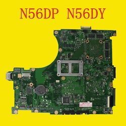 For Asus N56dp N56dr N56dy Rev 22 Motherboard 2gb Ram