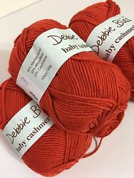LOT OF 6 ~ DEBBIE BLISS BABY CASHMERINO YARN ~ COLOR #340023