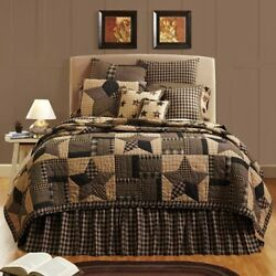 Vintage Country STAR Quilt King Size SET 5PC 97