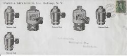 Early 1900#x27;s Commercial Cover amp; Ads Inserts from Solvay NY to Sanford ME