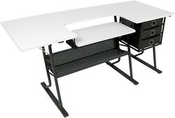Studio Designs 13362 Eclipse Hobby Sewing Center w 60.25 Wide Table Top