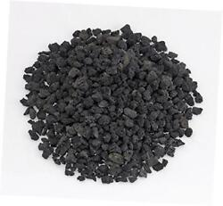 natural lava rock granules for gas log sets and fireplaces (10-lb bag)