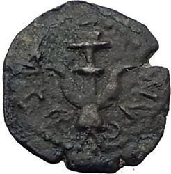 ALEXANDER JANNAEUS Biblical Jerusalem Jesus Widow's Mite Greek Bible Coin i64201