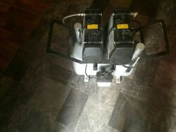 JUN AIR Model 2xOF302 40 B Dual head Dental Air Compressor Oil Free $1750.00