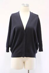 NWT $3425 Brunello Cucinelli Women's 100% Cashmere Soft Cardigan Sweater M  A176