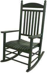Jefferson Green Patio Rocker Outdoor Garden Porch Lawn Balcony Furniture