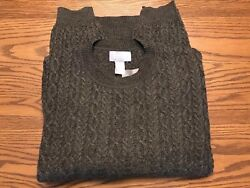 USED MENS NORTH FORTY FOUR MEDIUM CREW NECK WOOL SWEATER