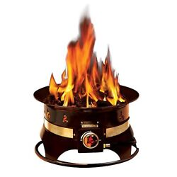 Outland Firebowl Premium Portable Propane Fire Pit Pits Chimineas Outdoor Eating