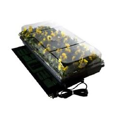 Germination Station With Heat Mat Seed Growing Kit Heated Mini Greenhouse Dome