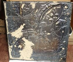 "Antique Decorative Tin Ceiling Tile Panels  2' x 2' (24"" x 24"")- 50 Panels"