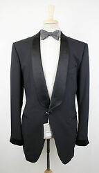 New. TOM FORD Wool Satin Trim Shawl Collar Tuxedo Suit 5646R Drop 7 Fit S $5460
