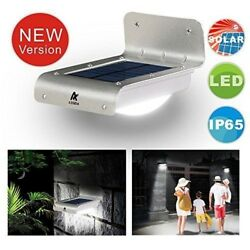 ASSEM®16 Bright LED Wireless Solar Powered Motion Sensor Outdoor Light - W..