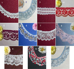 Lace Trim Ruffled Assorted 2 10 Yards CLOSEOUT 13X Buy any 3 Trims Get 1 FREE $7.95