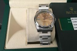 Rolex NIB Oyster Perpetual 114200 34MM White Grape Dial Boxpapers $5050 Retail