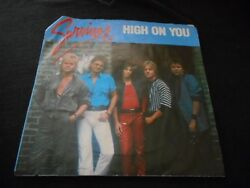 SURVIVOR High On You  It's The Singer Not The Song - 45